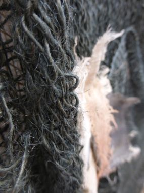 jute and cheesecloth